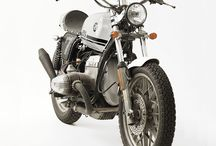 BMW Motorbikes / One day I will own a classic BMW or convert one into a cafe racer. / by Simon