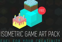 """Free Game Art for Indie Developers / I'm going to use this board to provide FREE game art for your next hit games! I'll do my best to provide better and better quality and to be as active as possible.  The packs are FREE for personal and commercial use. Enjoy! Just add """"0"""" in the price section. Hope you'll find some good use for it! More here: https://gumroad.com/crevassestudio"""