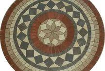 mosaicos-tampo de mesa