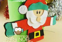 Natal (Natalinos) / #artesanato #natal #enfeites #decoração #lembrancinhas
