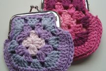 Monederos a crochet