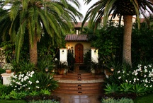Tustin Mediterranean / Interior design work by Interiors Remembered on a California home
