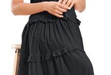 Ashlee Cotton Dress / Natural 100% cotton breathes naturally for year round comfort. / by HolyClothing.com