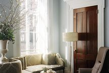 H \ LIVING SPACES / Entry, Living, Family and Dining Rooms / by Camille Winona