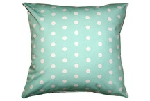 Mint Polka Dots / by Amber Larsen