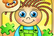 123 Kids Fun Puzzle Green / #puzzle #kids #fun #apps #education #play
