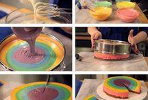 baken cake / taart