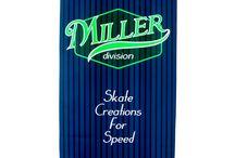 M 1 · Miller Division · Longboard / Dropped lowered, doble cóncavo, 8 láminas de arce canadiense... Freeride Series