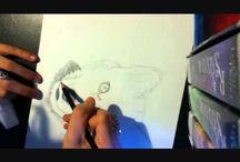Husky art