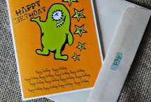 Kids birthday cards / by Stacey Mecham