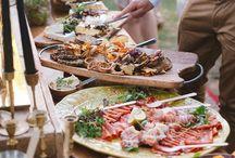 feast / Feasting. Food. Food sharing. Good food.