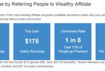 Affiliate Programs / Affiliate Marketing offers a wide variety of income streams. Affiliate programs offer either a one-time commission structure or a recurring commission structure. Here's a collection of the best affiliate programs with recurring commissions.