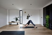 Home Gyms/Exercise Rooms / Here's some great ways to include a home gym or exercise space into your home.