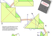 origami / postagem de origami  / by Joana Lourenço