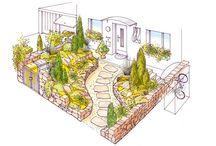 Gardens - draving