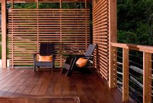 Decks / Ideas for deck privacy / by Paisley B