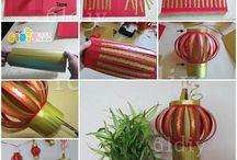 Imlek decoration