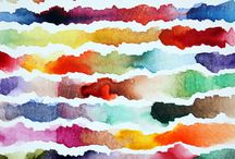 Abstracts and watercolor