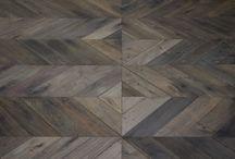 Project Braun - Z-parket - Floor: Torone / The magnificent Z-parket Torone floor, aged and placed in an original herringbone pattern. #zparket #architecture #woodenfloors #engineeredoakflooring