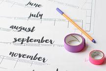 kalender ideeën