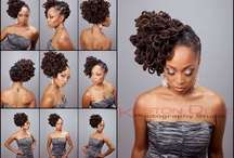 hairstyles i like / by Nikki Beaf