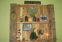 Pallet decorating/crafting / by MaryDee Moore