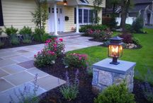 Patio/front porch ideas / by GinaConrad Myers