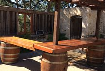 Wine Barrel Party Rentals / ReWINEd designs offers beautiful hand crafted wine barrel products for weddings, special occasions and corporate events