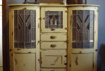 Projects - Leadlight Cabinet
