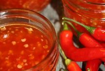Chillie sauces and chutneys