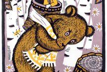 Masih a and the bear