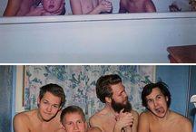 Fotos infância x hoje