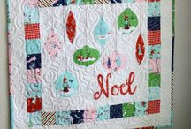 Christmas Themed Quilts & Blocks