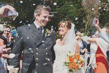 Weddng Confetti / Fun times with wedding confetti