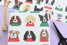 Christmas All Wrapped Up! / Our favourite Christmas gift wrap designs to make wrapping your Christmas presents perfect!