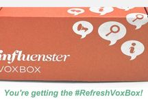 #RefreshVoxBox / Check out my Influenster #RefreshVoxBox goodies.