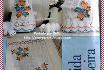 crochet,para cocina