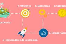 Infografias sobre Gamificación / by Marinva Jugando se entiende la gente