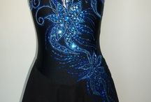 Dance costume inspiration--bead and embroidiery detail