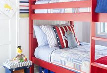 Shared Bedroom Inspiration / Having some troubles getting the right layout or theme with your children's shared bedroom? Let us try and spark your inner designer with these ideas!