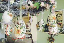 My Decoupage / My handmade Easter's eggs
