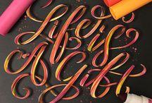 iPad Lettering / iPad Lettering/Calligraphy with iPad Pro + Apple Pencil + Procreate App