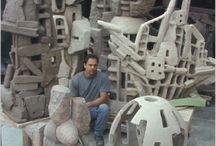 Esculturas de Construccion