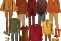 Clothes, looks - my colors / Colors that flatter me