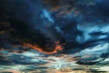 最後は奇麗な夕陽が出ていました。 良かった良かった。 after stormy weather, I could see a beautiful sky today. ;) #sunset #sky #location #夕焼け #台風の後写真
