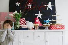 Hana 3rd Birthday- Oliver Jeffers How to Catch a Star Theme