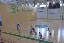 Olivar Infantil A baloncesto.