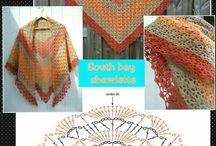 chusty szydełko/shawl crochet