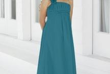 Jr bridesmaid dress ideas / by Jennifer Bartholomew