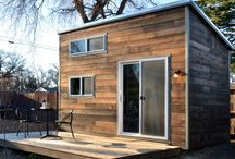 Architecture: Tiny / Tiny houses, small houses, just-enough, clever space ideas